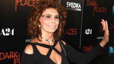 Sophia Loren en una imagen de 2015 (Foto: AFP).