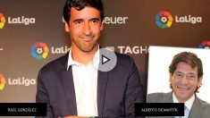 El asesor del ex futbolista del Real Madrid Raúl González, Alberto de Martín.