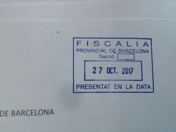 Denuncia contra los mandos de los mossos en Hospitalet