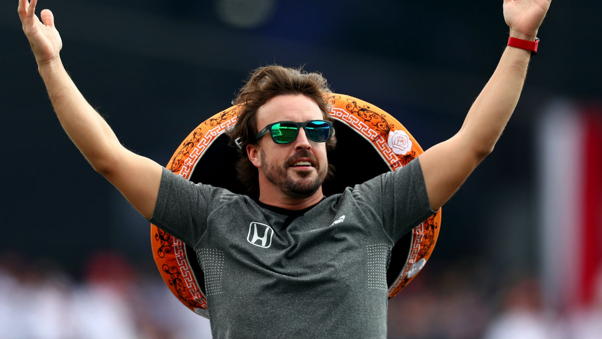 Fernando Alonso quiere la gloria en Estados Unidos. (Getty)