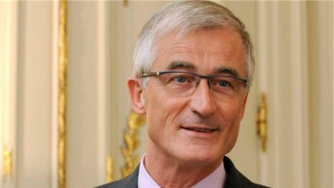 El nacionalista Geert Bourgeois, presidente de Flandes, del independentista N-VA.