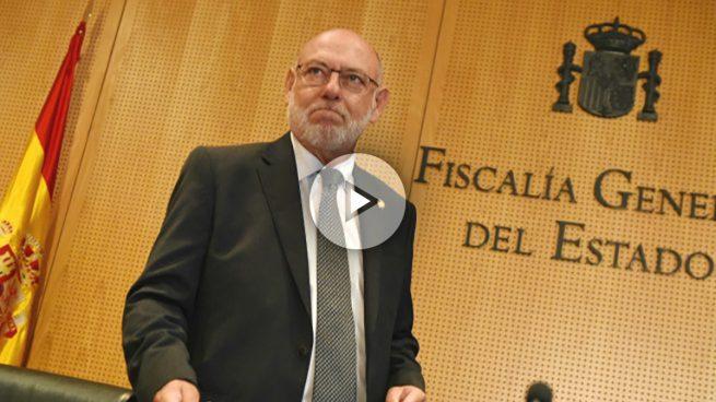 El fiscal general se querella por rebelión, sedición y otros delitos contra Puigdemont, el Govern y la mesa del Parlament