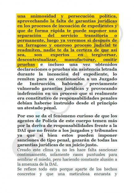 Denuncia de los mossos de Hospitalet contra sus mandos