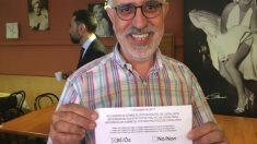Xavier Peguera, autor del artículo