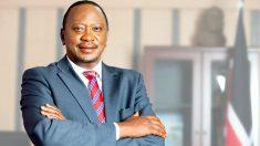 Uhuru Kenyatta, presidente de Kenia.