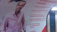 Ignacio Aguado en el Metro.
