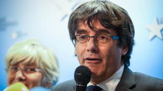 Carles Puigdemont desde Bruselas.