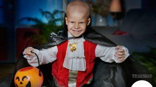 Hazle truco o trato a la leucemia infantil y colabora con la fundación Uno entre cien mil