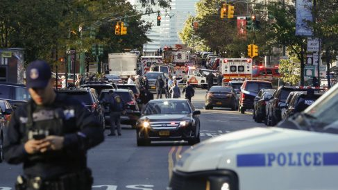 Atentado en Manhattan (AFP)