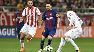 Messi esta vez no pudo salvar al Barcelona. (AFP)