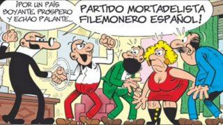 Mortadelo y Filemón, la pareja emblema del cómic español creadas por el dibujante Ibañez.