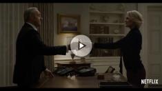 Kevin Spacey y Robin Wright, Frank y Claire Underwood, en la serie 'House of Cards'.