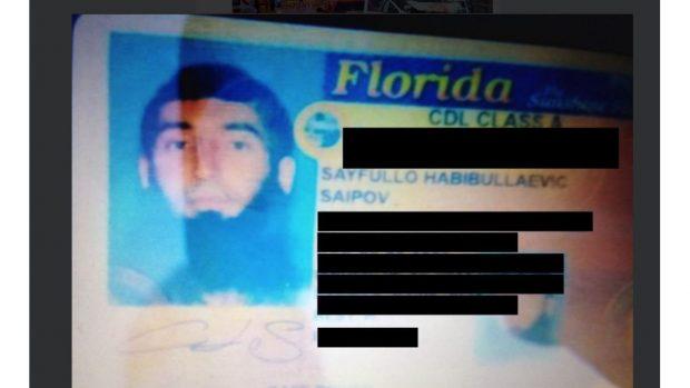 El terrorista de NY dejó una nota en el vehículo identificándose como miembro del Estado Islámico