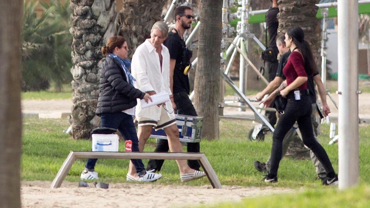 Antonio Banderas caracterizado como Pablo Picasso. (Foto: EFE)