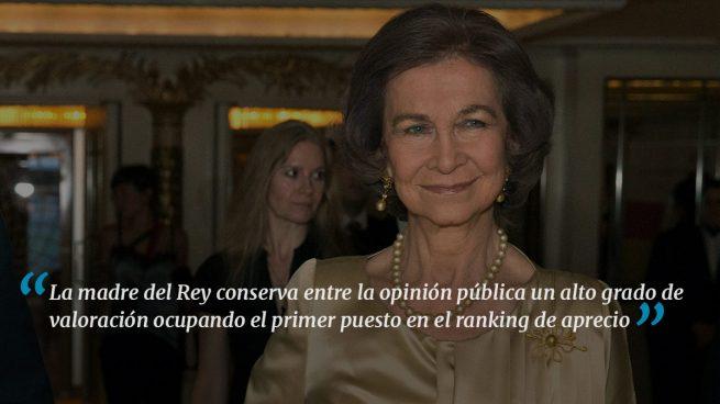 La Reina Sofía, 79 años queriendo ser útil a los demás