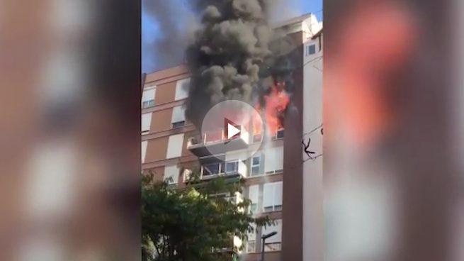 incendio barcelona
