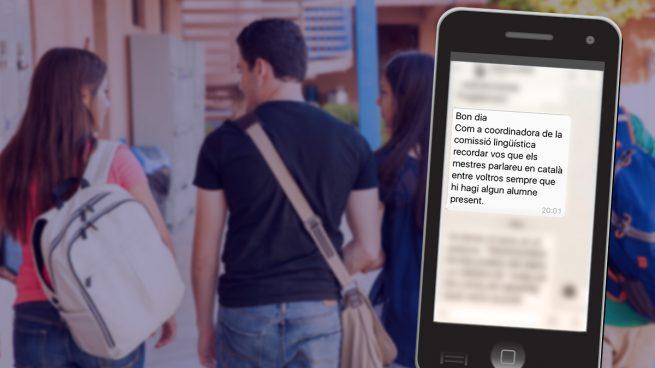 """Los profesores de Baleares reciben la orden de """"hablar en catalán cuando haya algún alumno delante"""""""