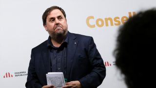 Oriol Junqueras, ex vicepresidente de la Generalitat de Cataluña. (Foto: AFP)