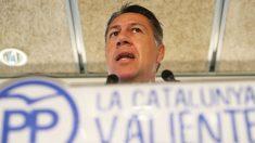 Xavier García Albiol., líder del PP catalán. (Foto: EFE)