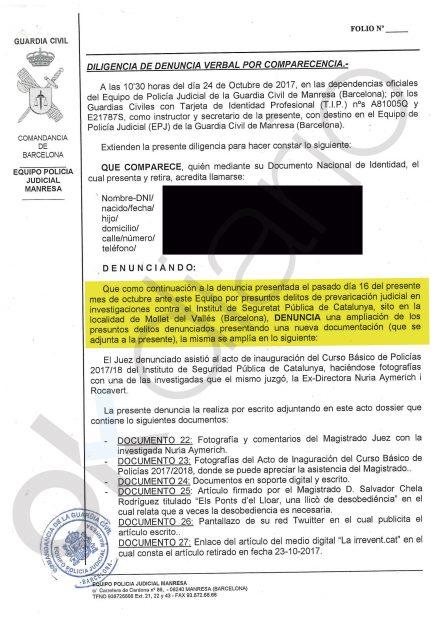 Denuncia prevaricación contra el juez Chela por la Plataforma de Afectados del ISPC