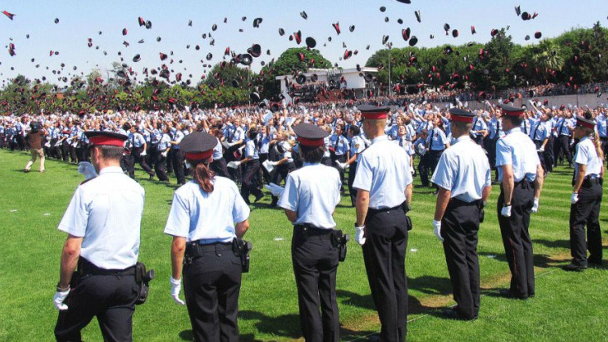 Graduación en el Instituto de Seguridad Pública de Cataluña (ISPC)