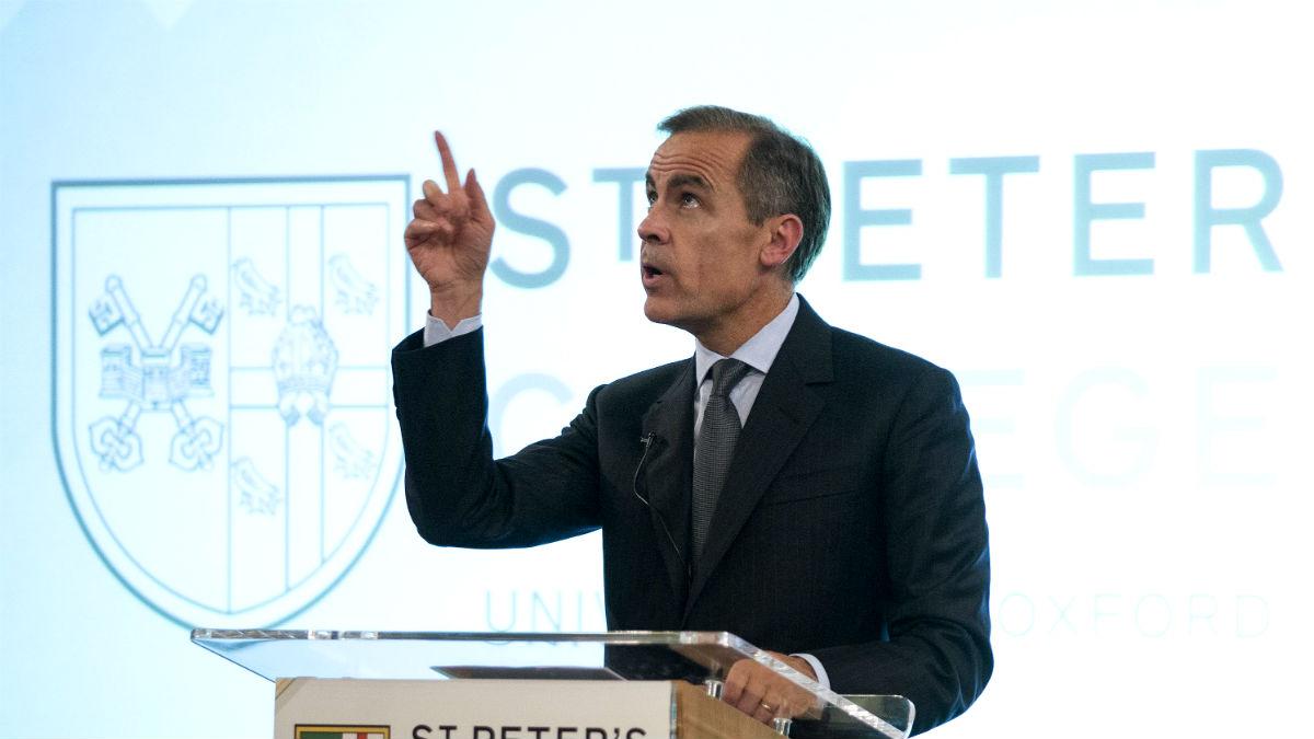 El gobernador del Banco de Inglaterra, Mark Carney (Foto: GETTY).