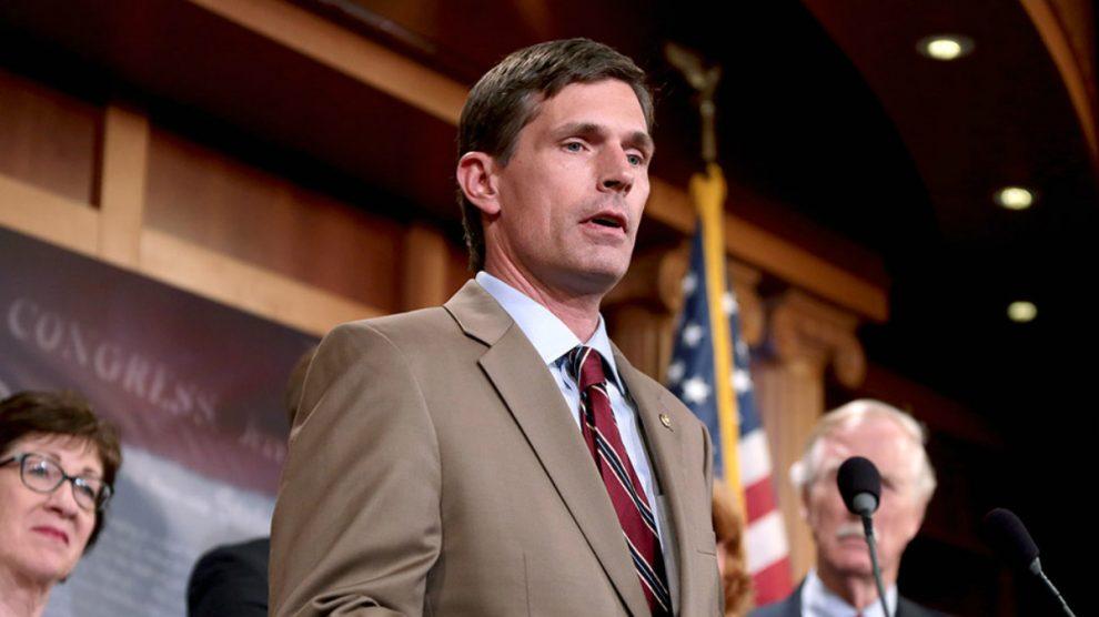 El senador demócrata estadounidense Martin Heinrich.