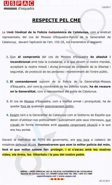 Un sindicato con 900 mossos: