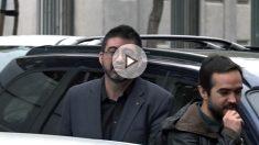 Carlos Sánchez Mato, edil del equipo de gobierno de Manuela Carmena, a su llegada al Supremo.