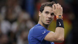 Rafa Nadal dice adiós a París. (AFP)