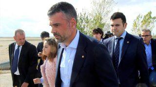 El ex consejero Santi Vila a su salida de prisión. (Foto: EFE)
