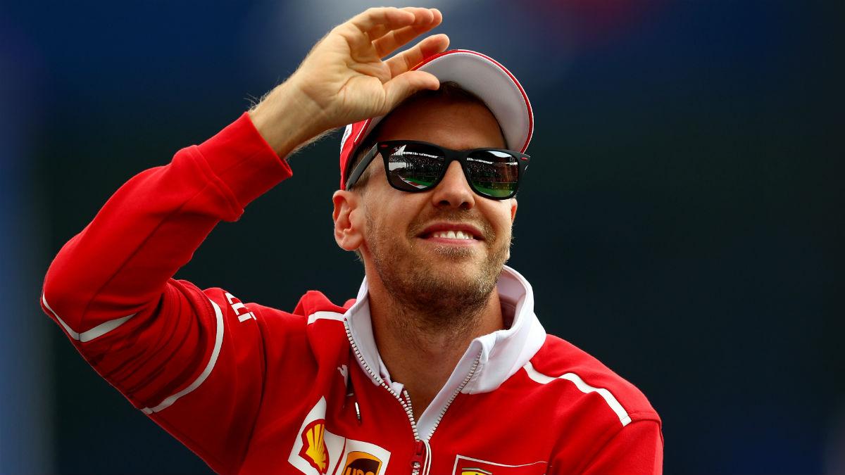 Sebastian Vettel ha asegurado que su único objetivo para 2018 es evitar el quinto mundial de Hamilton, descartando a Alonso de la pelea. (Getty)
