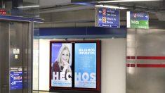 Campaña de Cristina Cifuentes en el Metro