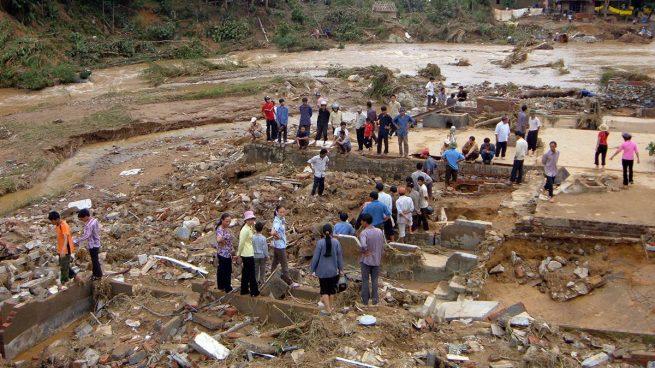 El tifón 'Damrey' deja al menos 19 muertos, decenas de desaparecidos y más de 3.000 desplazados en Vietnam