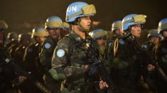 Cascos azules. (Foto: AFP)