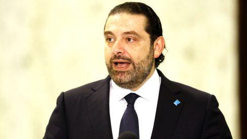 Saad Hariri, dimisionario primer ministro libanés. (Foto: AFP)