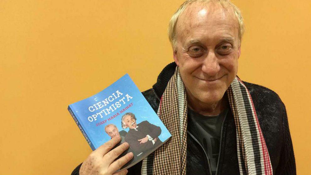 El productor de televisión Josep Maria Mainat, promocionando su libro.
