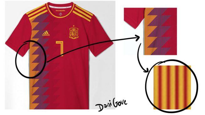 camiseta selección