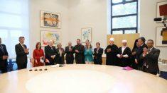 Carmena entrega las Llaves de Oro al presidente de Israel