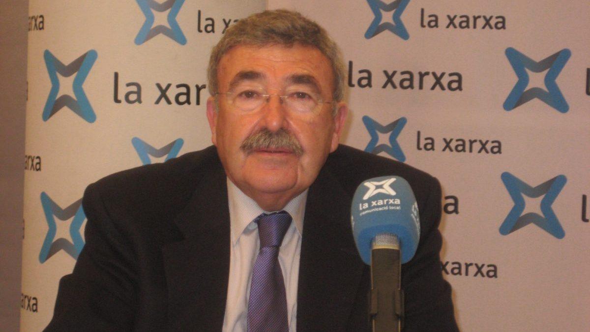 Joan Simó, presidente de la Cámara de Comercio de Lérida (Foto. La Xarxa)