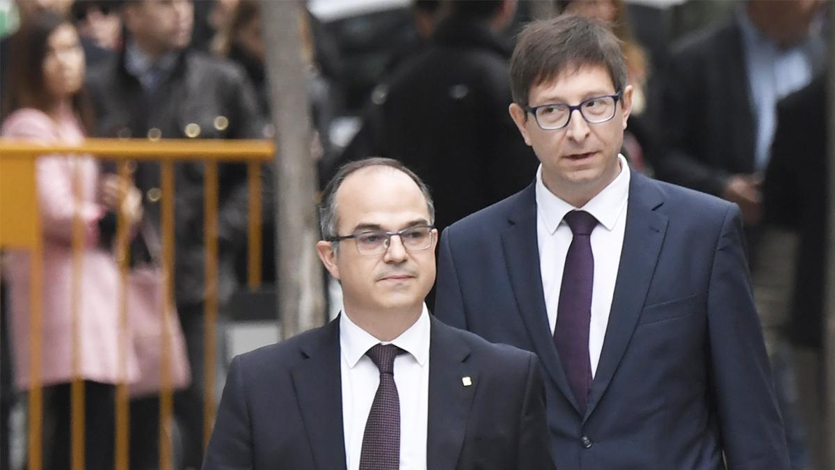 Jordi Turull y Carles Mundó. (Foto: EFE)