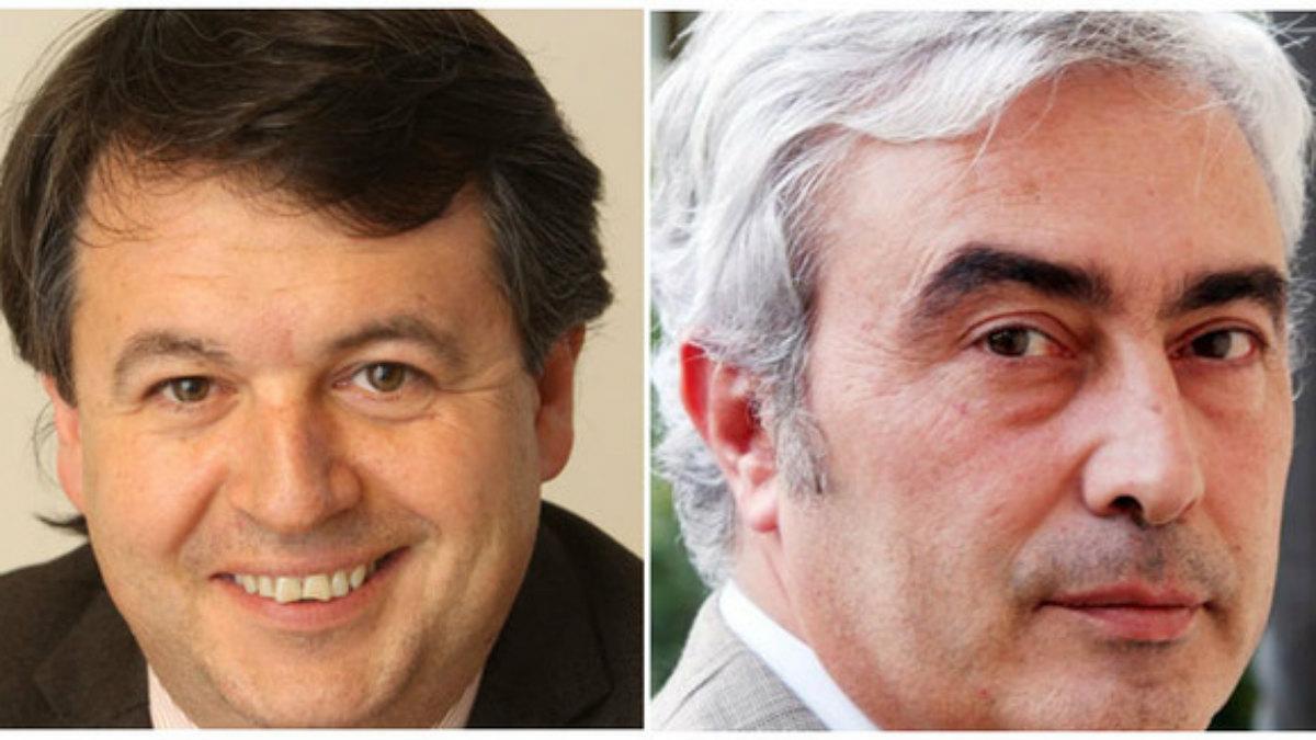 Francesc Xavier Solà y Josep Maria Matas, ex dirigentes de la ACM y de Convergència.
