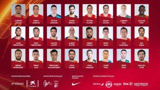 Lista de seleccionados de España. (FEB)