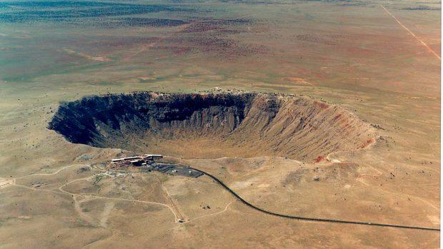 cráteres de meteorito