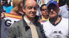 Fernando Maura, de Ciudadanos, con la oposición venezolana