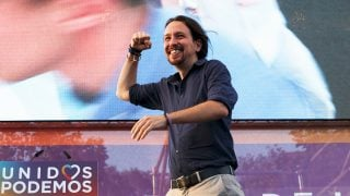 Pablo Iglesias, secretario general de Podemos. (Foto: Getty)