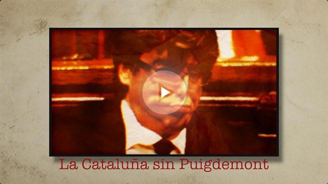 Independentistas de Barcelona ven a Puigdemont como un héroe: «Está siendo fuerte y muy valiente»