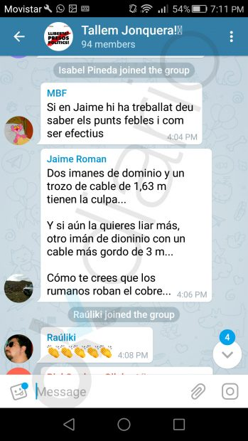 Pantallazo 4 planes de boicot Renfe en la Junquera