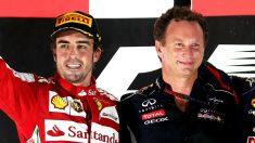 Christian Horner ha reconocido que Red Bull estuvo a punto de contratar a Fernando Alonso en varias ocasiones. (Getty)