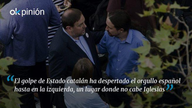 Cataluña puede darle la puntilla a Pablo Iglesias